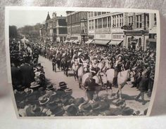 Vintage Columbia Tennessee Tenn TN Mule Day Parade Photo Maury County 30s-40s