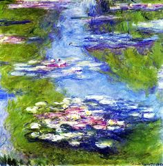 Waterlilies ... Monet - 1907