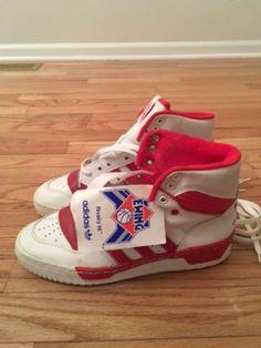 timeless design 4e970 c1c04 Patrick Ewing Adidas Original Vintage Rivalry Hi Basketball Shoes NWT Size  6 1 2