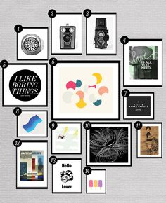 28 More Free Printables to Hang On Your Gallery Wall