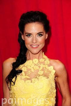 Stephanie Waring arriving for the 2014 British Soap Awards at The Hackney Empire, 291 Mare St, London.
