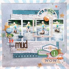 Wanna create with multi photos? how about doing 2 of th. Photo Layouts, Scrapbook Page Layouts, Scrapbook Pages, Scrapbooking Ideas, Frame Layout, Sketch 4, Challenge, Layout Inspiration, Making Ideas