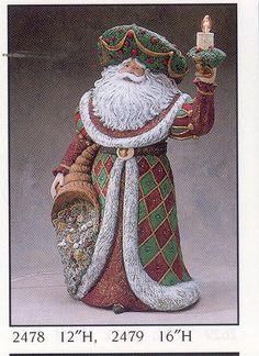 WGARE2478-2479--Lg. Renaissance Santa.JPG 402×552 pixels