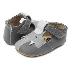 682cd2e4727931 ELEPHANT T-Strap Baby Leather Shoe