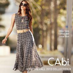 The Fall '13 CAbi Chloe Tunic and Skirt