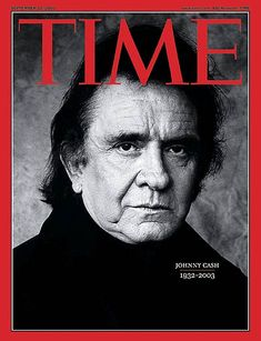 Johnny Cash - cover of Time Magazine