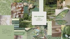 green aesthetic macbook wallpaper <3
