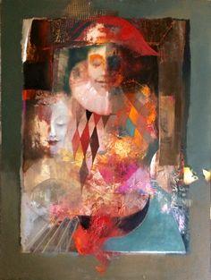 Karneval Painting, Oil Painting, Art