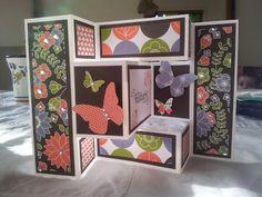 Beautiful Tri Fold Shutter cards