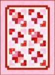 Valentine Scattered Hearts Quilt Free Pattern AND Jury Duty Update
