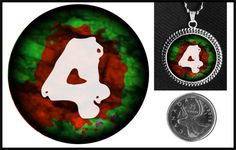 Left 4 Dead 2 glass necklace on Etsy for $10.