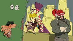 The Last of Alice. #superjail #thelastofus #mashup #omegalbagel #omegal #bagel #art #fanart #fan #toon #drawing #cartoon