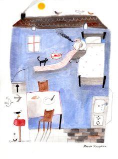 Makoto Maruyama Illustration