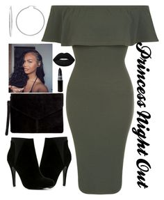 """Green & Black"" by lovetayla ❤ liked on Polyvore featuring ALDO, New Look, Miss Selfridge, Sterling Essentials and Lime Crime"