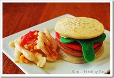 fun food, eggs, edible crafts, breakfast, healthy kids, bacon, pancakes, healthy kid recipes, hamburgers