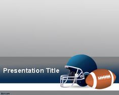 American Football PowerPoint Template is a free football PPT template background that you can download to make powerful presentations on sports