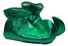 Private Island Party  - Shoe Covers Elf Green 1698, $9.99 - $12.99    The Green Elf Shoes Covers are perfect for your Elf, Pixie,Fairy and Santa Claus Costume. Also great for Leprechaun Costume. This is a costume accessory not recommended for daily use. Recommended Age: 14+ Years. If you have smaller feet you can stuff some paper into the tip of the shoe.