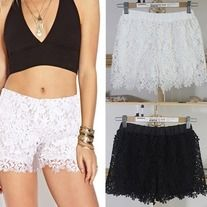 Sweet lace shorts for summer @ editlabel