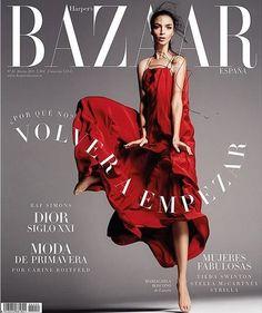 Mariacarla Boscono - Harper's Bazaar Magazine Cover [Spain] (March 2015)