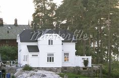 An old 1900's house in Nordstrand, Oslo, Norway - Stock Photos