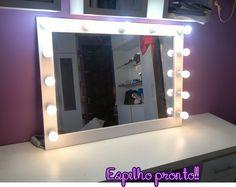 Beleza de Moda » Blog Archive » Faça você mesma: Espelho tipo camarim!