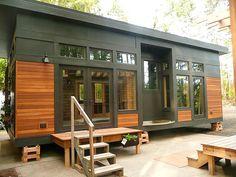 Modular Homes Meet Modern Needs - Organic Connections. This is presh!!