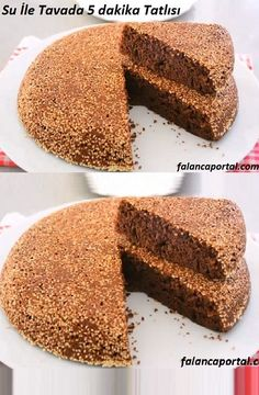 5 minutes dessert in pan with water- Su İle Tavada 5 dakika Tatlısı 5 minutes dessert in pan with water recipe recipes # Sütlütatl of - Delicious Cake Recipes, Yummy Cakes, Fun Desserts, Dessert Recipes, Gluten Free Vanilla Cake, Food And Drink, Tasty, Sweet, Vegan