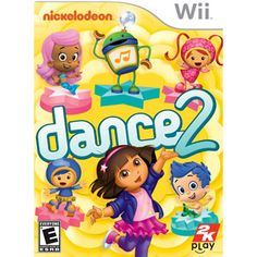Nickelodeon Dance 2 (Wii)