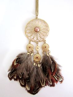 Previous  Next  Dream-catcher Inspired Necklace   from: Vyrra Accessories