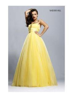 e81d24ea567 Gentle Strapless Flat Empire Waist Layered Hem A-line Prom Dress