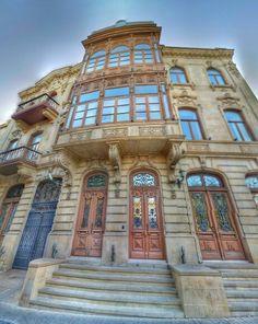Amazing old Baku.