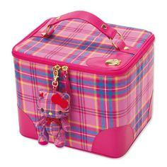 2009 Sanrio Hello Kitty BIG Tartan Lochcarron Cosmetic Bag*Japan | eBay