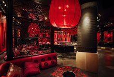 Dragonfly Night Club designed by Munge Leung