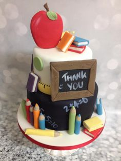 Thank you Teachers - Cake by The Cake Lady