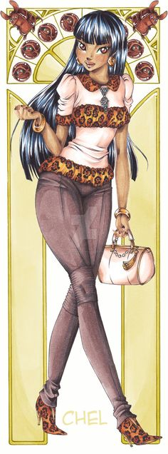 Chel - Cartoon High by HayashisSheep on DeviantArt Female Characters, Cartoon Characters, Anastasia Cartoon, Emo, Alternative Disney Princesses, Disney University, Disney High, Stitch Cartoon, Disney And Dreamworks