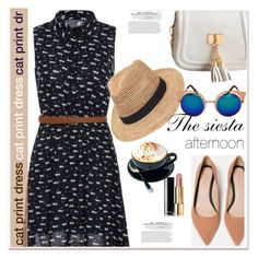 """""""The  siesta"""" by paculi ❤ liked on Polyvore featuring Chanel, Gottex and vintage"""