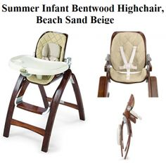 Check My Review On Summer Infant Bentwood Highchair In Beach Sand Beige A Compact