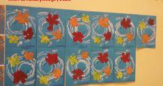 scuola dell'infanzia, classe, sezioni, bambini, maestra, Emily, decorazioni, pannello, maestraemily.blogspot.it, autunno, 4 elementi, progetto didattico, aria, lavoretti, esperimenti, giochi Fall Crafts For Toddlers, Crafts For 3 Year Olds, Toddler Crafts, Crafts For Teens, Fall Preschool Activities, Thanksgiving Preschool, Preschool Crafts, Fall Drawings, Classroom Crafts