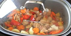 slow cooker leave the lid on