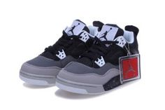 best website b9887 643c0 Air Jordan 4 Retro GS Fear Black Grey Shoes,cheap price only need 63 ,press  the picture learn more about it. Chaussures Air JordanNike Jordan AirBaskets  ...