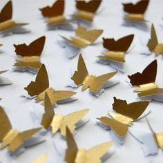 3d butterfly table confetti by love those prints   notonthehighstreet.com