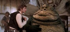 """Lucasfilm President Kathleen Kennedy says the original cuts of the classic 'Star Wars' trilogy will never return to theaters. She won't """"touch"""" Lucas's changes. Side By Side Video, Star Wars Episode 4, Episode Iv, Han Solo And Chewbacca, Leia Star Wars, Jabba The Hutt, Star Wars Pictures, Pictures Images, Star Wars Film"""
