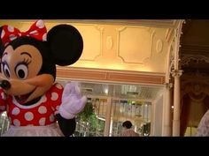 !Minnie Mouse Breakfast and teacup riding at DISNEYLAND!!! ☆Lolamyster☆ - YouTube