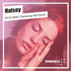 Yes, please! Pop-Senkrechtstarterin Halsey macht am 2. März mit ihrer «Manic World Tour» halt in der Zürcher Samsung Hall ❤️.  🎟️ Vorverkaufsstart: 27. September, 10 Uhr Halsey, Samsung, Pop Rocks, Highlight, September, Lights, Luminizer, Hair Highlights, Halo Highlights