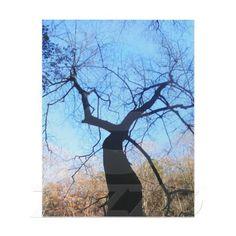 #Spooky #Tree #Custom #Letterhead #Zazzle