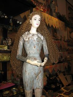 Paris Hotel Boutique Journal: I'd love to go see this : Tail of the Yak-hard -to choose a figure-saint doll