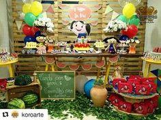 Que show de Luna! Por @koroarte #festainfantil #festa #decoraçãodefesta #inspiração #party #partydecor #cake #kidsparty #ideiasparafestas #birthday #firstyear #inspiration #partykids #partyideas #igdefesta #sweettable #carolfesteira #festashowdaluna