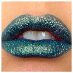 *NEW* Metluxe Lipsticks -- the pigmented pout color you'd expect from Impulse Cosmetics with a metallic finish! TOY STORE COWBOY is a metallic teal blue with a gold/green duochrome effect.