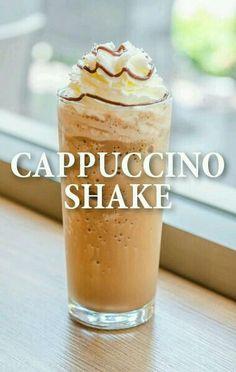 Cappuccino shake....delicious plus chocolate......