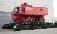 Big Red Model 31000.Manitowoc crane
